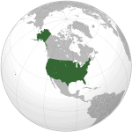 mapa estados unidos