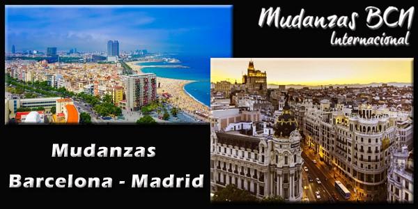 Mudanzas Barcelona Madrid