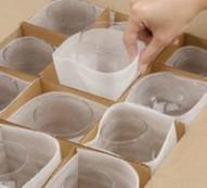 Cómo proteger correctamente la cristalería para una mudanza
