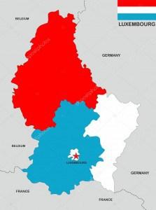 Mudanzas Luxemburgo mapa